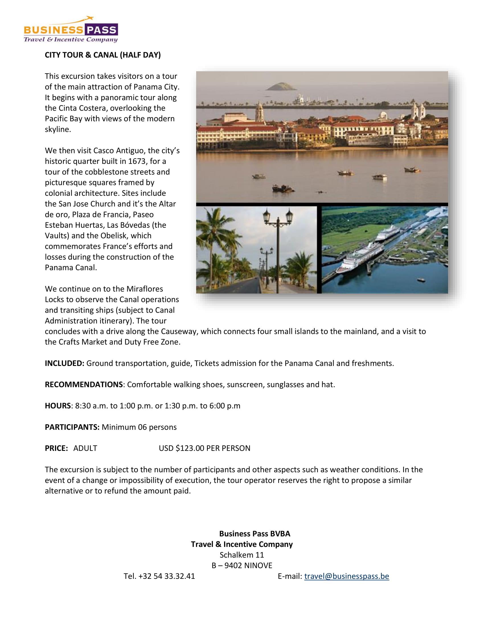 GLA_Borchure_of_Optional_Excursions_Panama_2019_003_1-01