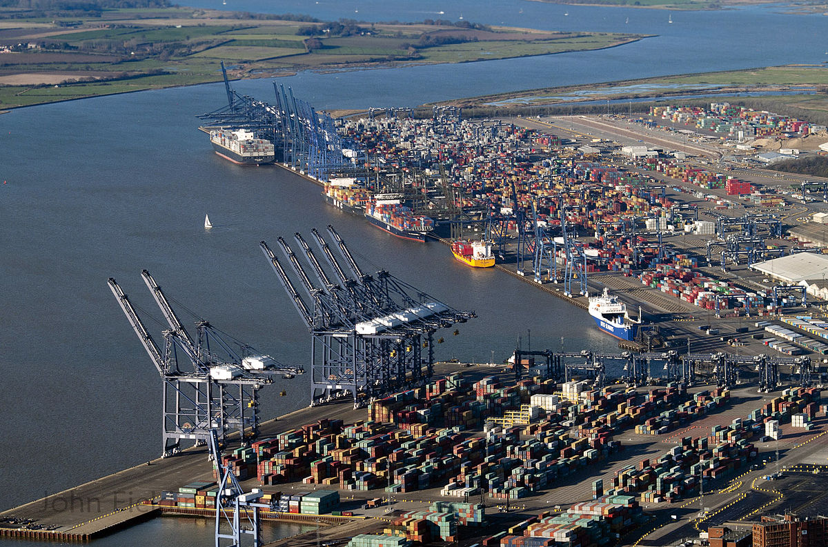 Port Issues At Felixstowe Uk Gla